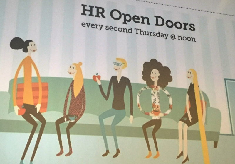 HR open doors